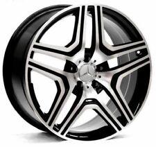 22 Black Ml63 Style Wheels Rims Fits Mercedes Benz Ml Ml350 Ml550