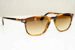 Authentic PERSOL Mens Vintage Sunglasses Brown 3019 108/51 30864