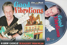 CD CARTONNE CARDSLEEVE COLLECTOR 10T + 2 VIDEOS BRIAN WILSON (BEACH BOYS)