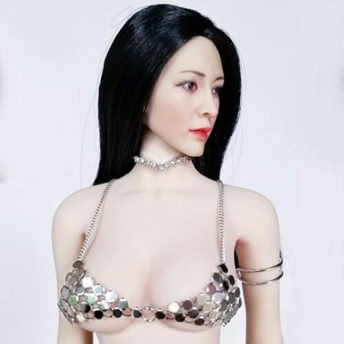 """2PC 1:6 Scale Collar Necklace Model For 12/"""" PH Female Action"""