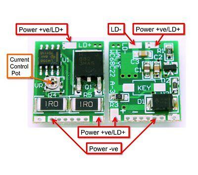 808nm 1000mW IR Laser Diode Driver/<800mA/3.5V Output 1 pcs