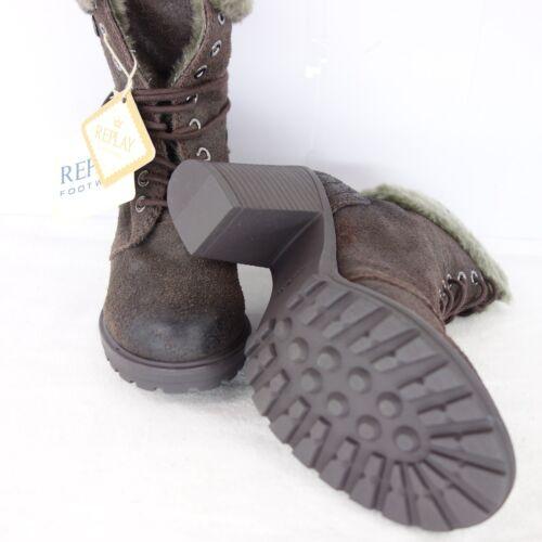 REPLAY Damen Stiefeletten Schuhe ELENOIR Gr 36 37 38 39 40 41 Leder NP 149 NEU