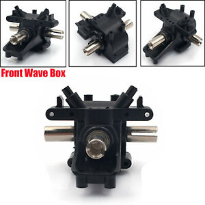 Details about  /Upgraded Front Wave Box for Wltoys 12428 12429 12423 RC Model Car Truck Black
