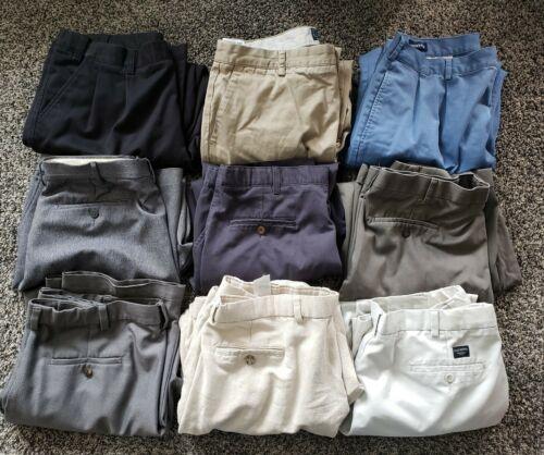 Lot Of 9 Men's 38x29 Dress Pants| Casual Pants Lot
