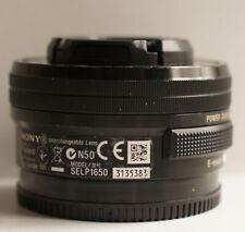 Sony SELP1650 E PZ 16–50mm f/3.5–5.6 OSS Telephoto Lens