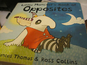 DéTerminé Little Monster's Book Of Opposites Par Frances Thomas (board Book, 2006)-afficher Le Titre D'origine Finement Traité