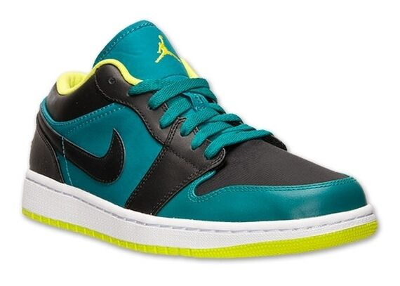 New Nike Air Jordan 1 Low Size 10.5 Lush Teal Venom Green'