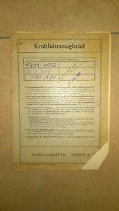 KFZ-Brief-Original-Loyd-Typ-LP-400-383-ccm-13-PS-von-1955
