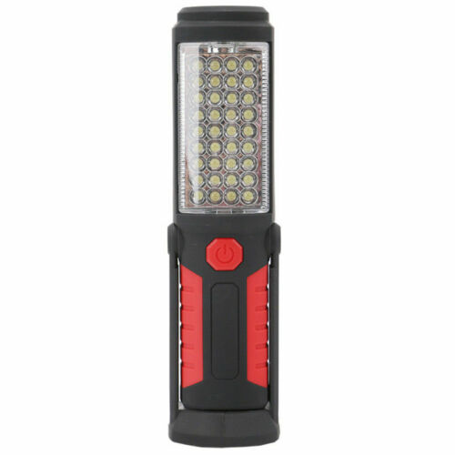 Hiking Rechargeable Inspection Lamp Work Light COB Torch LED Magnetic Handheld