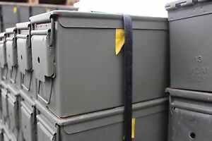 Ammo-Can-US-Army-Military-M2A1-50-Cal-Ammunition-Metal-Storage-5-56MM-FREE-SHIP