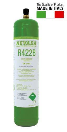 GAS R422B REFRIGERANTE RICARICA PER CLIMATIZZATORI BOMBOLA 850 GR SOSTITUTO R22