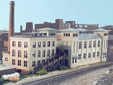 N Gauge Kit Factory Factory Building - 10603 Neu