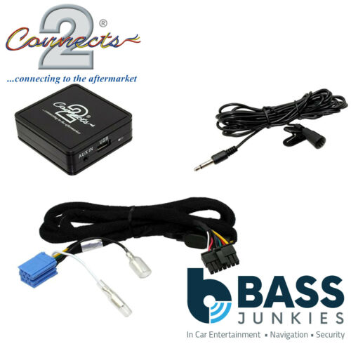 Peugeot 406 Upto 2005 Bluetooth Streaming AUX In Handsfree Interface CTAPGBT010