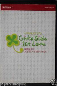 JAPAN-Tokimeki-Memorial-Girls-Side-1st-Love-Guide-Complete