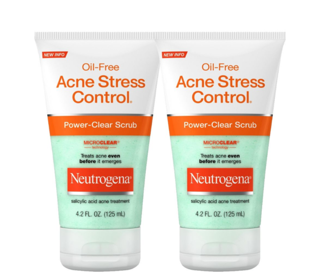 Neutrogena Oil Free Acne Stress Control 3 In 1 Hydrating Acne