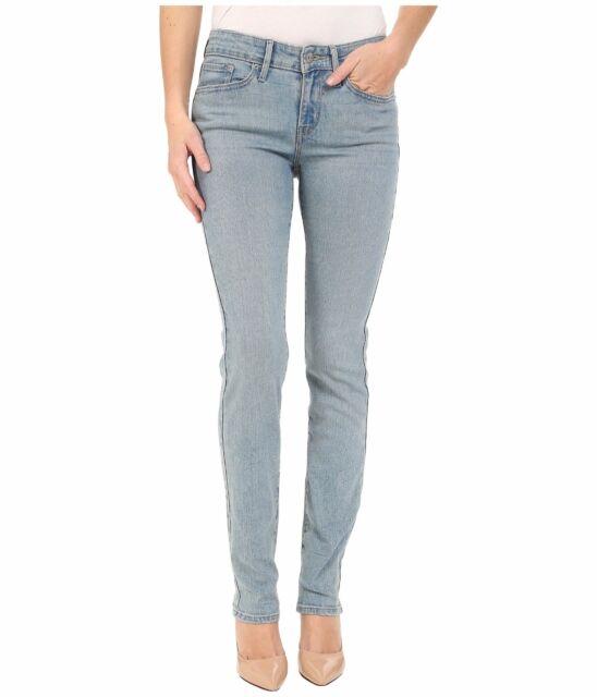 7fc3aedc Levis 712 Slim Fit Jeans Womens Mid Rise 5 Pocket Cotton Blend ...