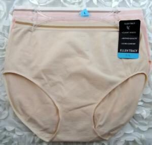 af4821edbe0e Ellen Tracy Women's Seamless Brief Panties Undies Size Large 7 Style ...