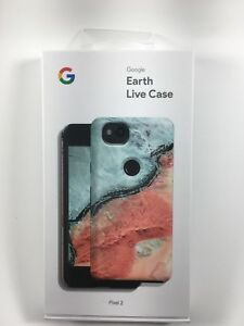 official photos c594b 2854f Details about NEW Google Earth Live Case for Pixel 2 - River - Authentic OEM