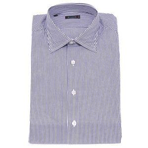 Shirt White Brouback Cotton Man blue 1860x Camicia Uomo Stripes Fqnvv0tx