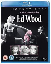 ED WOOD Johnny Depp BLURAY in Inglese NEW .cp