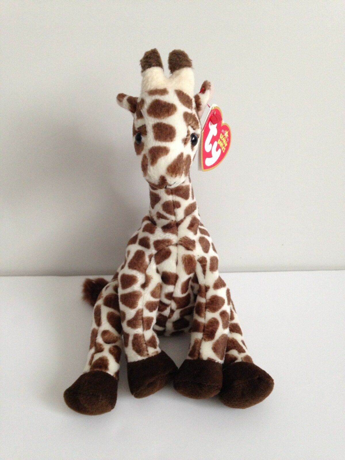 TY Beanie Babies Slamdunk Giraffe with Tags retro vintage
