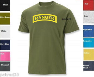 United States Army Rangers T Shirt Us Military Shirt Tee Sz S 5xl Ebay