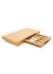 Stanley-Rogers-Bamboo-5-Piece-Cheese-Board-Set