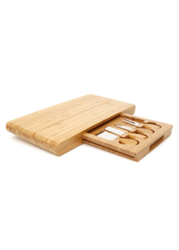 Stanley Rogers Bamboo 5 Piece Cheese Board Set x 2 Sets