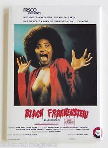Black Frankenstein FRIDGE MAGNET (2.5 x 3.5 inches) movie poster blackenstein