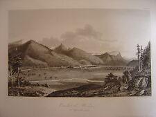 Grande gravure du Combat de WESEN le 26 septembre 1799