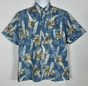 Reyn shirt bloemen mouwknoop Front Meerkleurig M Spooner Hawaiian Heren korte CBoeWrdxEQ