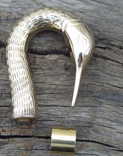 Brass Designer Antique Style Cane Wooden Walking Stick Vintage Canes-Only handle