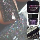 London Butter Nail Polish Lacquer NEW 11ml #THE BLACK KNIGHT Free Postage