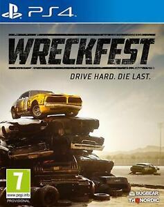 NUOVO-E-SIGILLATO-wreckfest-Sony-Playstation-4-PS4-Gioco