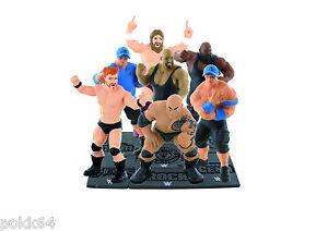 WWE-Lucha-libre-7-figura-John-Cena-Sheamus-Big-Show-The-Rock-Daniel-Bryan-8-cm