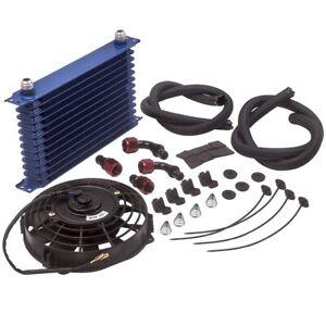 Universal-Anschluss-Set-Kit-Olkuehler-13-Reihen-AN10-oil-cooler-NEU