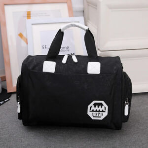 48d6300bb167 Men Women Travel Casual Outdoor Work Luggage Large Gym Duffle Sport ...