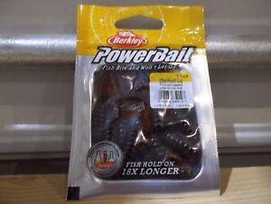 Berkley-Powerbait-3-034-Power-Grub-PBHPG3-PS-pumpkinseed-NIP