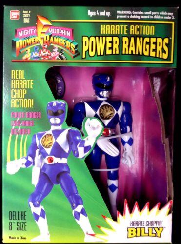 "Amricons 8/"" Power Rangers Karate Action Set of 5 New 1994 Zack Billy JasonTrini"