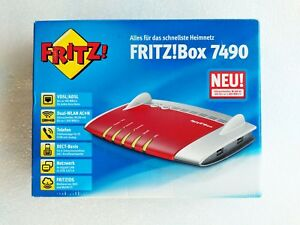 Avm Fritzbox 7490 - 20002584-afficher Le Titre D'origine Suppression De L'Obstruction