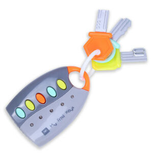 Eurekakids-My-First-Musical-Keys-Baby-039-s-Sound-and-Light-Pretend-Toy-Keychain