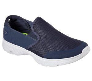 Zapatos-Hombre-Skechers-Performance-Go-Walk-4-54171-Nvgy-Azul-Marino-Originales