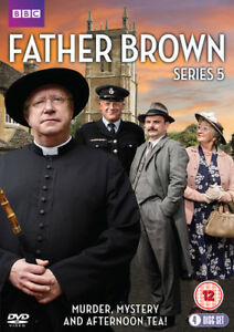 Father-Brown-Series-5-DVD-2017-Mark-Williams-cert-12-4-discs-NEW
