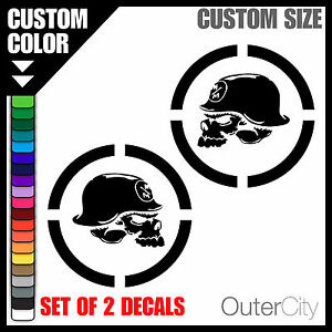 Image Is Loading Metal Mulisha Decal Jeep Militia Car JDM Drift