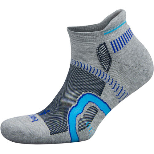 Midgray//Ink Balega Hidden Contour No Show Running Socks