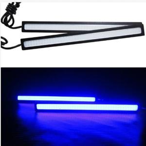 2x Marine Grade Large Super Bright 12 volt Blue LED Courtesy Lights