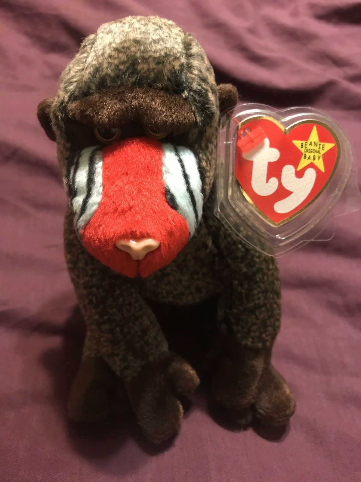 """1999 """"Cheeks"""" Limited Edition Ty Beanie Baby RARE  TAG ERRORS  COLLECTABLE  NEW"""