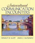 Intercultural Communication Encounters by James C. McCroskey (Paperback, 2006)