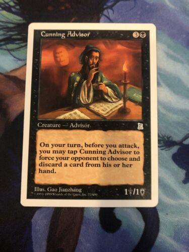Cunning Advisor Portal Three Kingdoms Mtg Tinybones Commander Card Mint