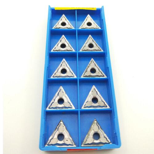 10pcs TNMG160404-HA H01  TNMG331 for Aluminum inserts Silver Lathe cutting tools